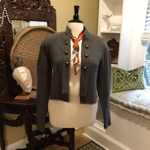 Mossimo-NWOT-XXL-Gray Sweater Military Style